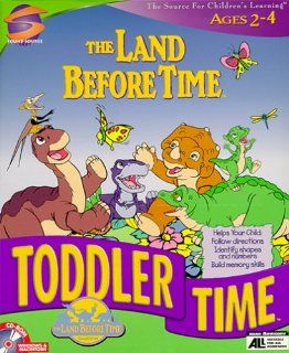 Land Before Time Animated Toddler Time Adventure Software