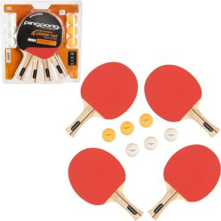 Ping Pong Performance Four Player Table Tennis Set (T1354)