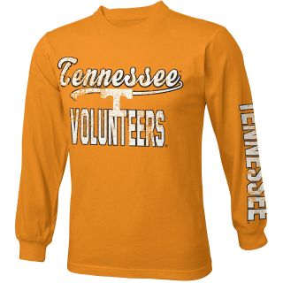 adidas Youth Tennessee Volunteers Printed Crew Long Sleeve Shirt   Size Medium,