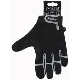 Ventura Full Finger Gloves   Size XL/Extra Large, Grey (719952 G)