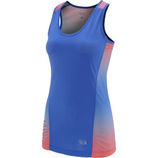 MOUNTAIN HARDWEAR Womens Wicked Electric Tank Top   Size Large, Cornflower