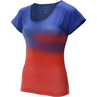 MOUNTAIN HARDWEAR Womens DrySpun Ombre Short Sleeve T Shirt   Size Large,