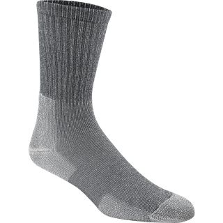 THORLO Unisex ULHX Ultra Light Crew Hiking Socks   Size Medium, Quarry