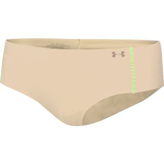 UNDER ARMOUR Womens Pure Stretch Cheeky Hipster, Nude/yellow