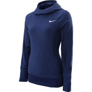 NIKE Womens Sport Golf Hoodie   Size XS/Extra Small, Blue Recall/sail