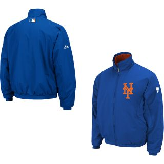 Majestic Mens New York Mets Therma Base Premier Jacket   Size Small, New York