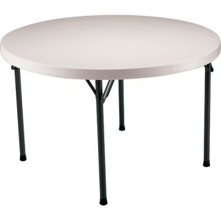 Lifetime 4 Round Utility Table (Case Pack of 4 Tables)   Size 48 Round,
