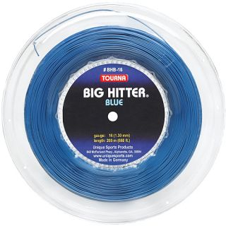 Tourna Big Hitter Blue 16g String   Size Each, Blue (BHB 200 16)