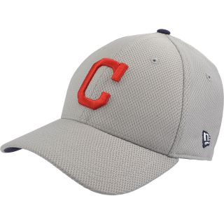 NEW ERA Mens Cleveland Indians Custom Design 39THIRTY Stretch Fit Cap   Size