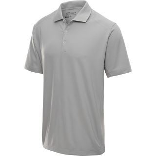 NIKE Mens Tech Jersey Golf Polo   Size 2xl, Pewter Grey