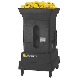 Tennis Tutor Tower Professional Player Tennis Ball Machine with Two Button