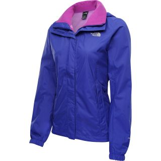 THE NORTH FACE Womens Resolve Rain Jacket   Size Small, Ultramarine