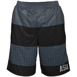 HURLEY Mens Arizona State Sun Devils Ion Mesh Shorts   Size Small, Black