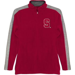 T SHIRT INTERNATIONAL Mens Stanford Cardinals BF Conner Quarter Zip Jacket