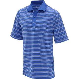 TOMMY ARMOUR Mens Striped Short Sleeve Polo   Size Xl, Dazzling Blue