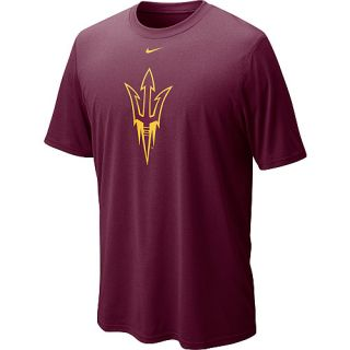 NIKE Mens Arizona State Sun Devils Dri FIT Logo Legend Short Sleeve T Shirt