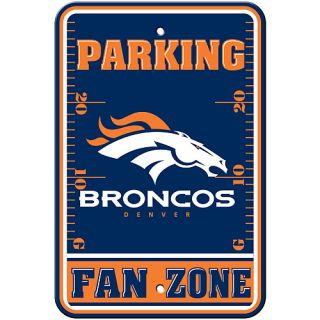 FREMONT DIE Denver Broncos Fan Zone Parking Sign
