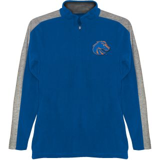 T SHIRT INTERNATIONAL Mens Boise State Broncos BF Conner Quarter Zip Jacket
