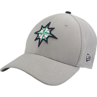 NEW ERA Mens Seattle Mariners Custom Design 39THIRTY Stretch Fit Cap   Size