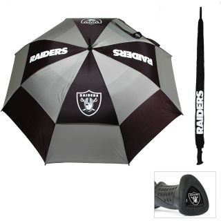 Team Golf Oakland Raiders Double Canopy Golf Umbrella (637556321695)