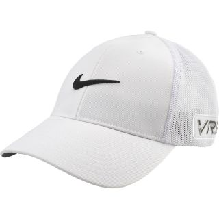 NIKE Mens Tour FlexFit Golf Cap   Size M/l, White/white
