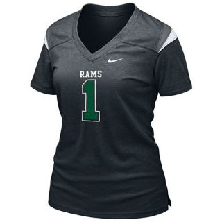 NIKE Womens Colorado State Rams Spring 2013 Alternate Touchdown T Shirt   Size