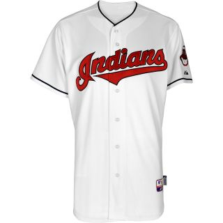 Majestic Athletic Cleveland Indians Blank Authentic Home Cool Base Jersey
