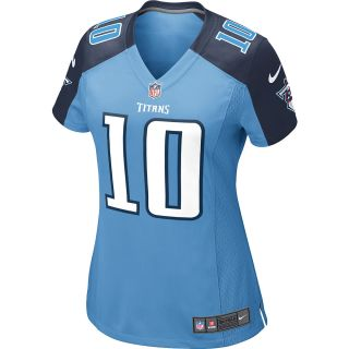 NIKE Womens Tennessee Titans Jake Locker Game Team Color Jersey   Size Large,