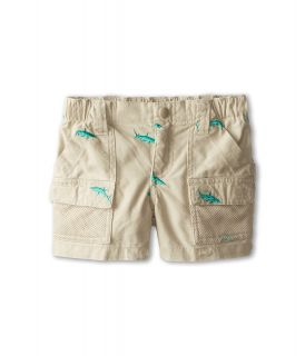 Columbia Kids Half Moon Embroidered Short Boys Shorts (Beige)