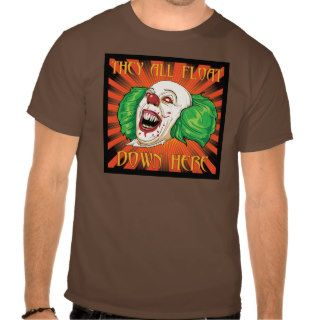 BLOCK 33 Crazy Clown T Shirts