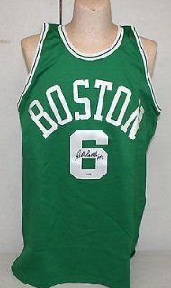 BILL RUSSELL SIGNED AUTOGRAPHED BOSTON CELTICS JERSEY PSA/DNA #V48429 Sports Collectibles