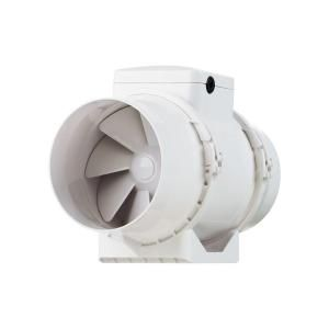 VENTS 200 CFM Power 5 in. Energy Star Rated Mixed Flow In Line Duct Fan TT SILENT 125