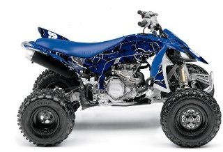 Yamaha YFZ450X Destroyer ATV Graphic Kit (Blue/White) (2009 2012)