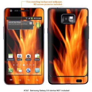 InvisibleDefenders Protective Decal Skin STICKER for Samsung Galaxy S II (AT&T U.S. version) case cover TgalaxysII 556 Cell Phones & Accessories