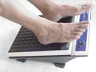 Maxi Rub Deep Vibration Foot Massager Platform   Heavy Duty Foot Massage Health & Personal Care