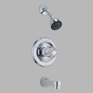 Delta Faucet T13422 PD Classic MonitorR 13 Series Tub and Shower Trim, Chrome   Faucet Trim Kits