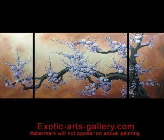 Japanese Cherry Blossom Canvas Wall Art Modern Contemporary Abstract Oil Painting 545   Fengshui Paintings Com