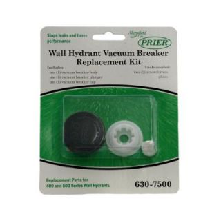 Prier Products Wall Hydrant Vacuum Breaker Repair Kit for Mansfield Style 400/500 Series 630 7500