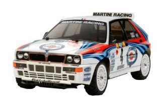 1/10 RC Car Series No.569 Lancia Delta Integrale (XV 01 chassis) 58569 (japan import) Toys & Games