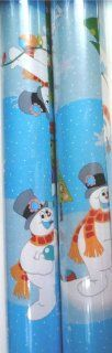 Frosty the Snowman Wrapping Paper Christmas Gift Wrap 2 ROLLS Health & Personal Care