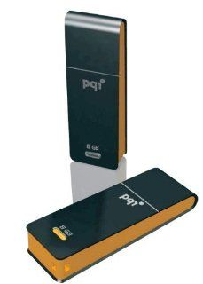 PQI i221 32GB USB Flash Drive Black/Orange   Retail Package Computers & Accessories
