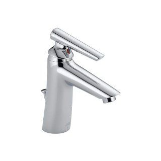 Delta 582LF WFMPU Rizu Single Handle Centerset Bathroom Faucet   Touch On Bathroom Sink Faucets