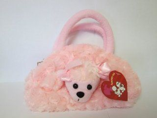 Pink, Plush Puppy Purse, Purse for Little Girls, Puppy Purses Goodie Bags Birthday Parties Toys & Games