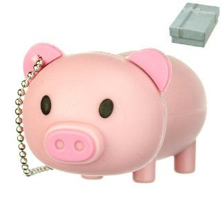 Cute Pink Farm PIG Animal keychain 8GB USB Flash Drive   in Gift box   with GadgetMe Brands TM Stylus Pen and comes in GadgetMe retail packaging Computers & Accessories