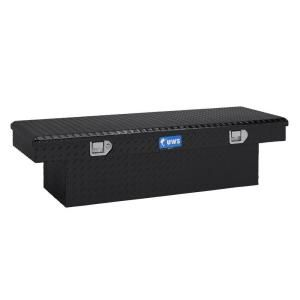 UWS 54 in. Aluminum Single Lid Black Crossover Toolbox SPLA TBS 54 SPLA BLK