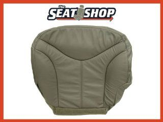 00 01 02 GMC Yukon XL Sierra Grey Leather Seat Cover LH bottom Automotive