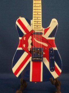Mini Guitar ROLLING STONES KEITH RICHARDS Display Gift