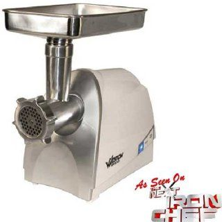 Weston 575 Watt Electric Heavy Duty Grinder, Silver Sports & Outdoors