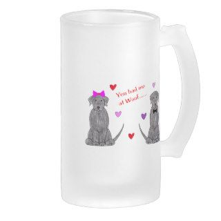 You Had Me At Woof Labrador Retriever Black Coffee Mug