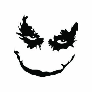 Joker   Dark Knight   Sticker   Decal   Die Cut Automotive